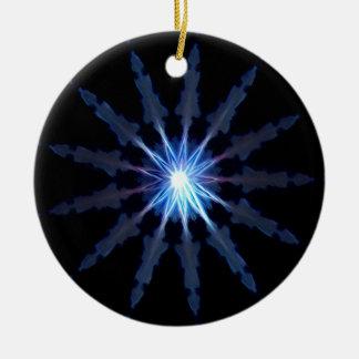 Verlichting Rond Keramisch Ornament
