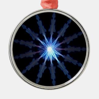 Verlichting Zilverkleurig Rond Ornament
