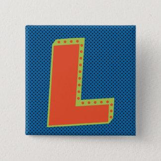 Verliezer - Groot L - Grootste Verliezer Vierkante Button 5,1 Cm