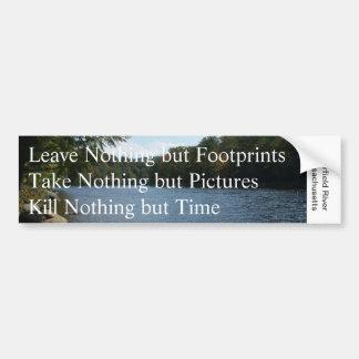 Verlof niets maar… de Sticker van de Bumper