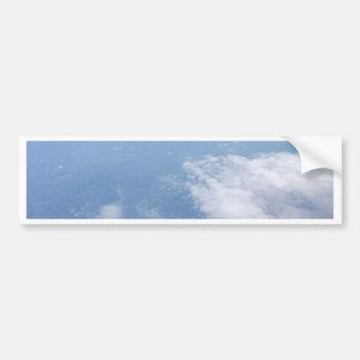 Verloren in de Wolken Bumpersticker
