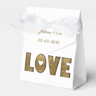 Verloving van het Huwelijk van de Typografie van Bedankdoosjes