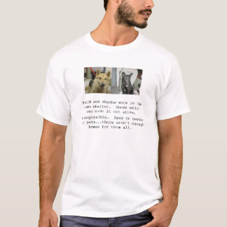 Vermannelijkt en Schaduw T Shirt
