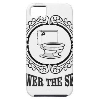 verminder de zetel tough iPhone 5 hoesje