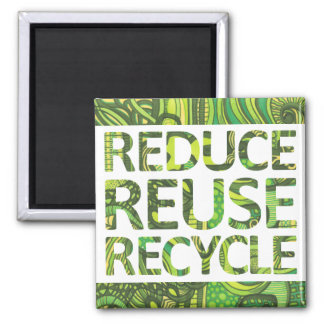 Verminder Recyclen Hergebruik gaan Groene Magneet
