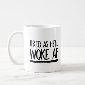 Vermoeid als Hel wekte AF -- Koffiemok