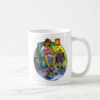 Vermoeide Moeder Koffiemok