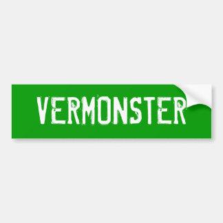 VERMONSTER BUMPERSTICKER
