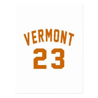 Vermont 23 Design van de Verjaardag Briefkaart
