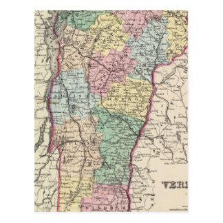 Vermont 6 briefkaart