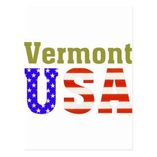 Vermont de V.S.! Briefkaart