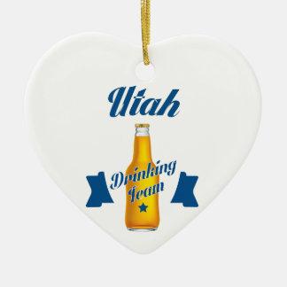 Vermont die team drink keramisch hart ornament