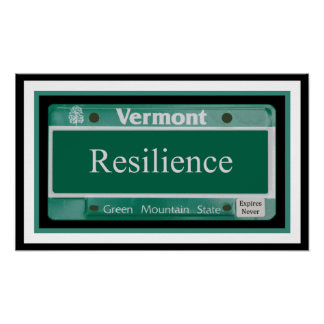 Vermont - Resilience.2 Poster