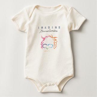 Veronderstel Bernie Sanders Baby Shirt