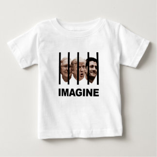 Veronderstel Troef, McConnell en Ryan achter Bars Baby T Shirts