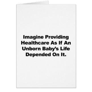 Veronderstel verstrekkend Gezondheidszorg voor Briefkaarten 0