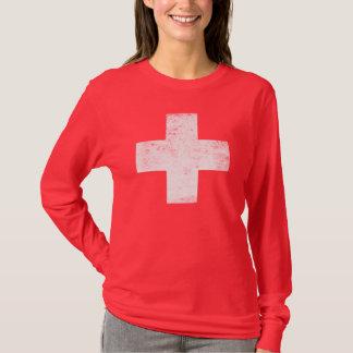 Verontrust Rode Kruis T Shirt