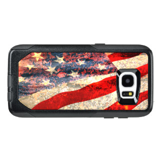 Verontruste Amerikaanse Vlag OtterBox Samsung Galaxy S7 Edge Hoesje