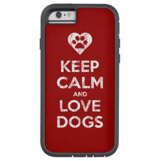 Verontruste de wijnoogst houdt de Kalme en Honden  Tough Xtreme iPhone 6 Hoesje