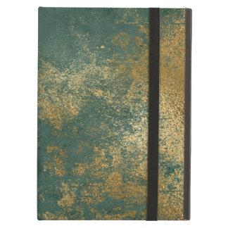 Verontruste Gouden Textuur iPad Air Hoesje