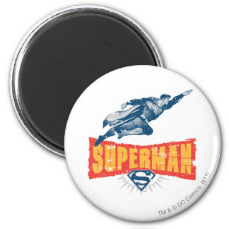 Verontruste superman koelkast magneetjes