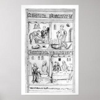 Verordening van de Bakkers van York, 1595-96 Poster