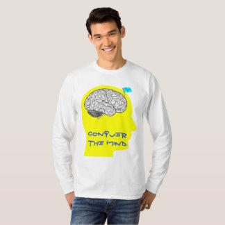 Verover de Mening - lang sleeved overhemd T Shirt