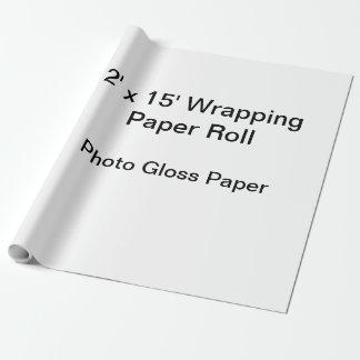 Verpakkend Document (2x15 het Broodje, Foto Inpakpapier