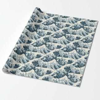 Verpakkend Document - de Golf door Hokusai Cadeaupapier