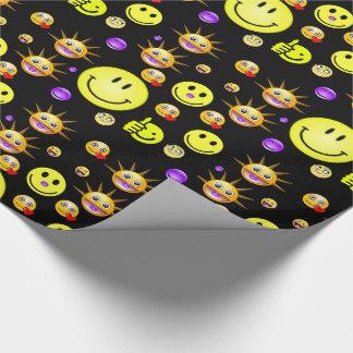 Verpakkend document Smiley Inpakpapier