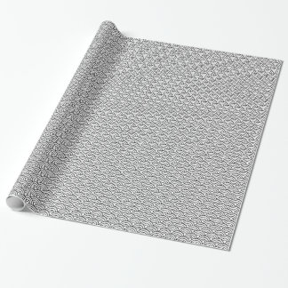 Verpakkende Document van het Patroon van Seigaha Cadeaupapier