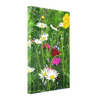 Verpakt Canvas: Wildflowers Canvas Afdruk