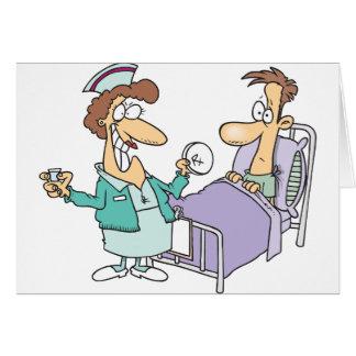 Verpleegster en Geduldige Wenskaarten
