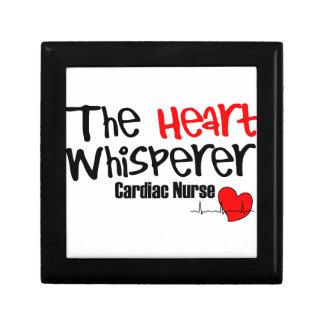 Verpleegster hartwhisperer decoratiedoosje