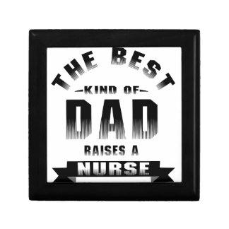 Verpleegster, het beste soort papa decoratiedoosje