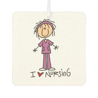 Verpleegster I de Lucht Freshner van het Cijfer Luchtverfrisser