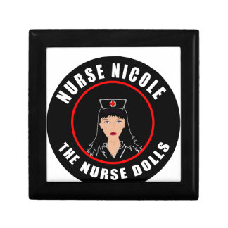 Verpleegster Nicole Decoratiedoosje