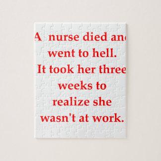 verpleegster puzzel