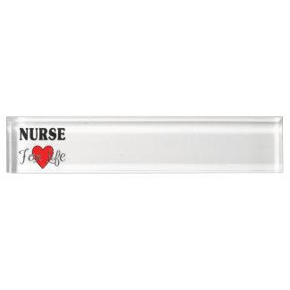 Verpleegster voor het Leven Naambord
