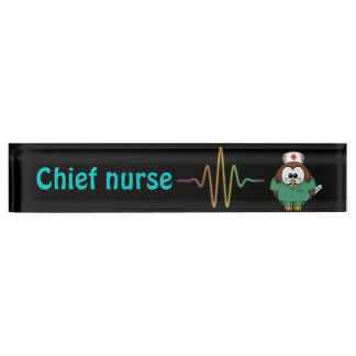 verpleegsters uil naambord