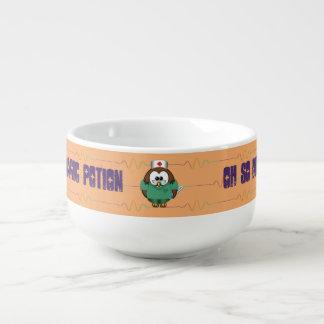 verpleegsters uil - soepmok soepkom