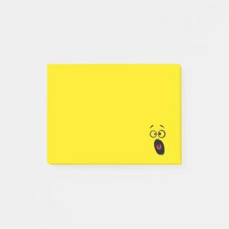 Verrast Doen schrikken het Gillen Geel Gezicht Post-it® Notes