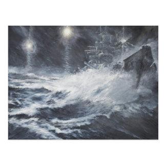 Verrast door de Slag van Starshell Scharnhorst van Briefkaart
