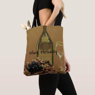 Verrukkelijke Wijn Vakantie Vino en het Canvas tas
