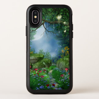 Verrukte iPhone X van OtterBox van de Nacht van de