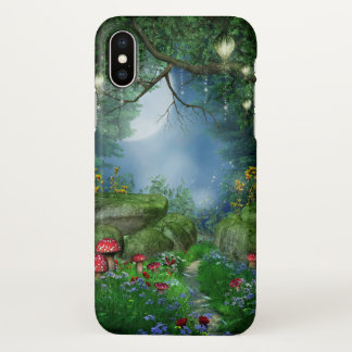 Verrukte iPhone X van Zazzle van de Nacht van de