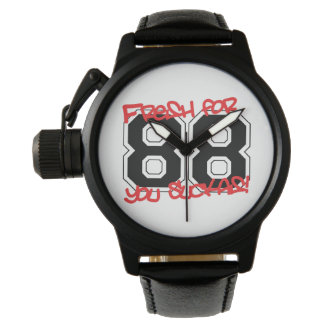 Vers voor '88 horloge