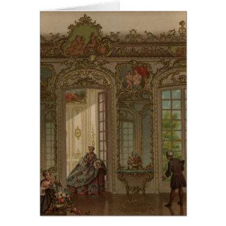 Versailles Van dag tot dag Wenskaart