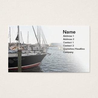 verscheidene varen gedokte boten visitekaartjes
