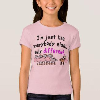 Verschillend autisme t shirt